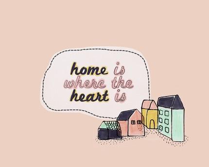 aurasau - home is where the heart is